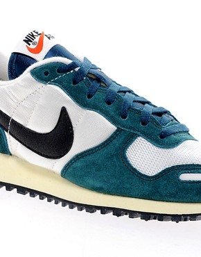 Image 4 ofNike Air Vortex White/Green Trainers