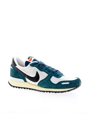 Image 1 ofNike Air Vortex White/Green Trainers