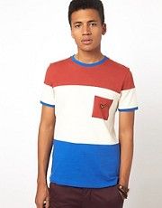 Voi Luka T-Shirt With Bold Stripe