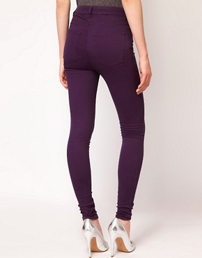 Image 2 ofJust Female Coloured High Waisted Skinny Jeans