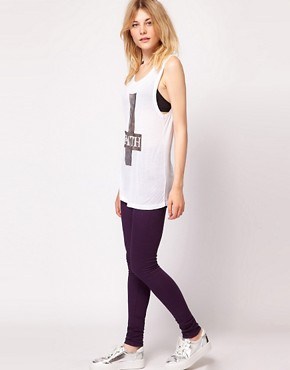 Image 4 ofJust Female Coloured High Waisted Skinny Jeans