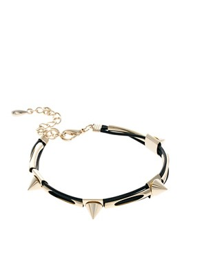 Image 1 ofLimited Edition Spike Cord Bracelet