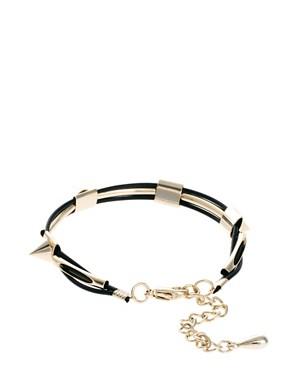 Image 2 ofLimited Edition Spike Cord Bracelet