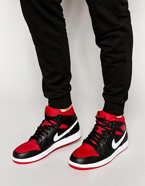 Nike Air Jordan 1 Mid Trainers