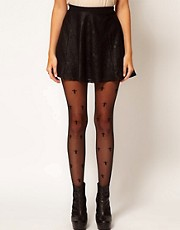 ASOS Sheer Cross All Over Tights