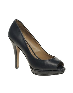Image 1 ofMango Peep Toe Platform Shoes