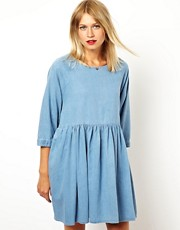 ASOS Denim Smock Dress