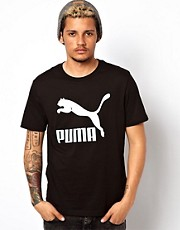 Puma T-Shirt with Vintage No 1 Logo