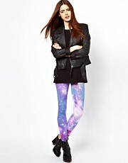 Just Female - Leggings con stampa cosmica
