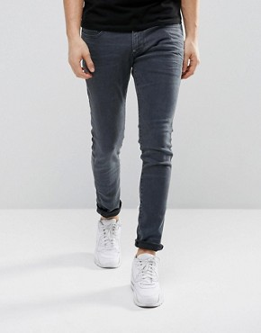 G-Star Revend Super Slim Jeans Overdye Blue