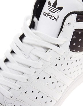 Image 2 ofAdidas Top Ten Hi Sleek Trainers