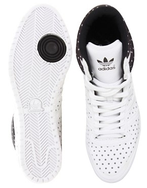 Image 3 ofAdidas Top Ten Hi Sleek Trainers