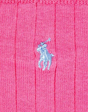 Image 2 ofPolo Ralph Lauren 3 Pack Polo Player Socks