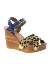 Park Lane Suede Heeled Sandal