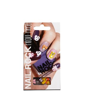 Image 1 ofNail Rock Frou Frou 3D Nail Apps - Teddy Bears