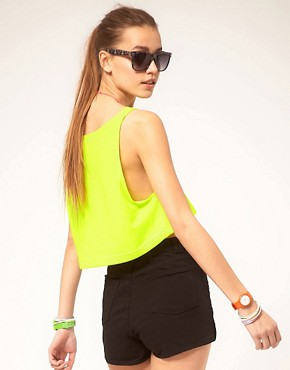 Image 2 ofAmerican Apparel Cropped Vest