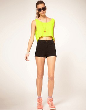 Image 4 ofAmerican Apparel Cropped Vest