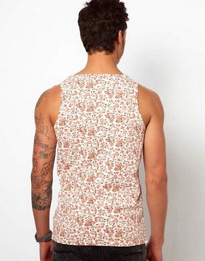 Image 2 ofRevolution Vest With Floral Print