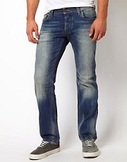 G Star Jeans Attac Low Straight Medium Aged