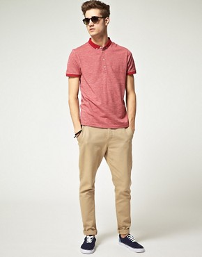 Image 4 ofASOS Polo Shirt With Twisted Yarn