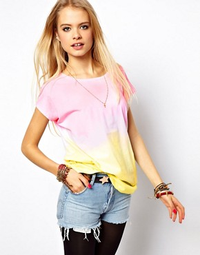 Image 1 of ASOS T-Shirt in Tie Dye