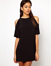 Motel Savannah Dress with Cold Shoulder