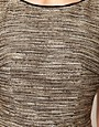Image 3 ofCoast Teasel Metallic Dress with Full Skirt