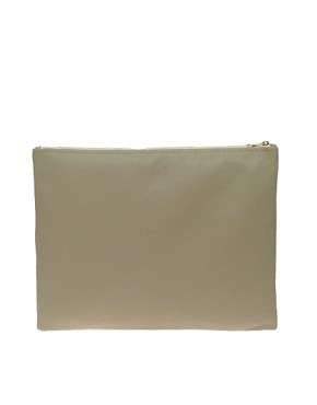 Image 1 ofAmerican Apparel Large Leather Clutch
