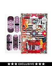 Nail Rock ASOS Exclusive Kaleidoscope Nail Wraps