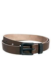 ASOS Black Buckle Leather Belt