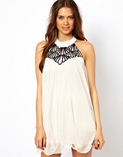 Lipsy Scallop Halter Dress