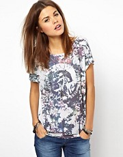 Diesel Mohawk Floral T-Shirt