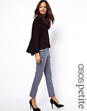 ASOS PETITE Exclusive Trousers In Geo Print