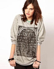 Sudadera extragrande Sin de The Orphan&#39;s Arms