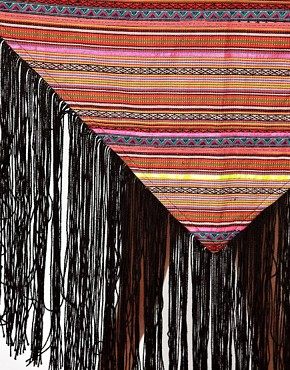 Image 2 ofASOS Premium Multi Stripe Tassel Scarf