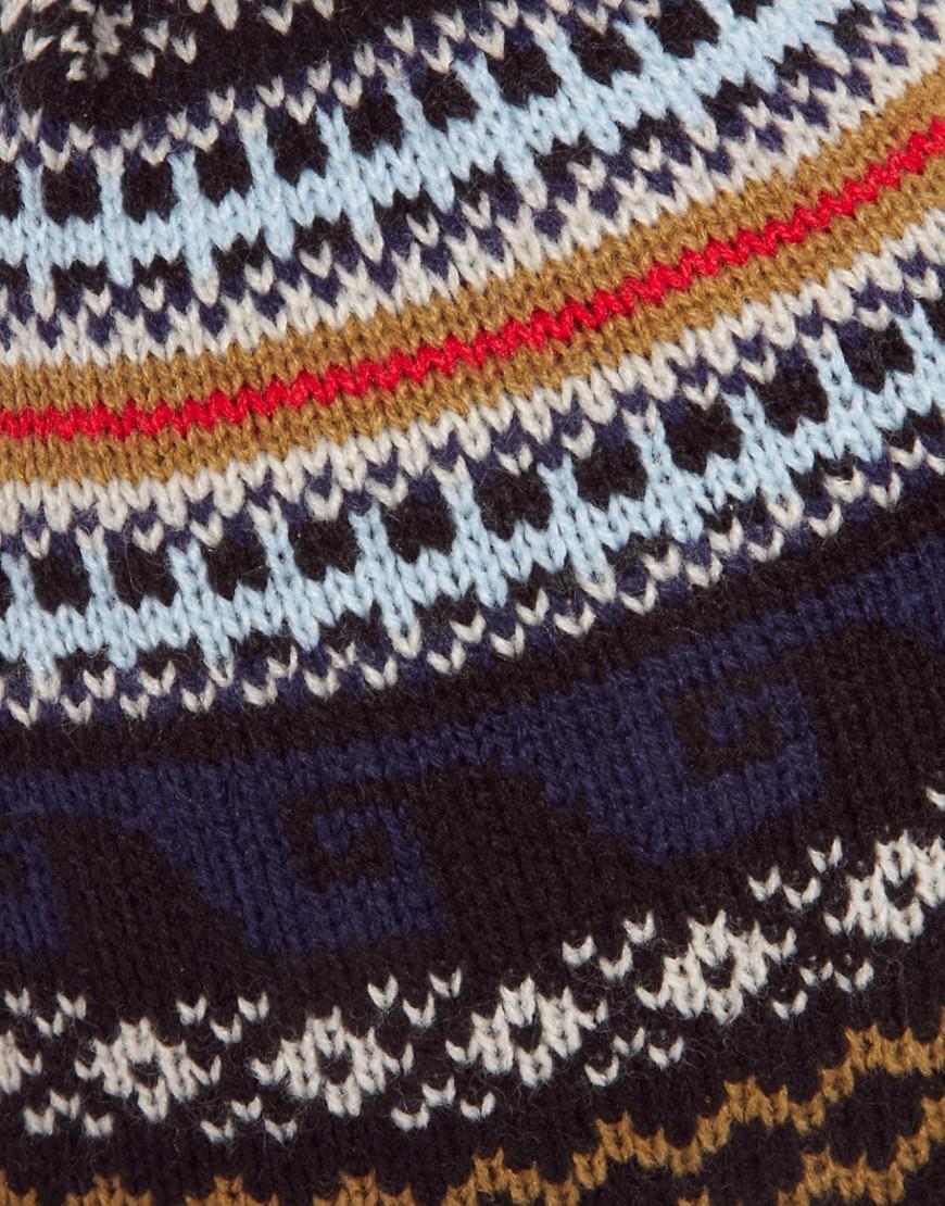 Image 2 ofASOS Peruvian Hat in Fairisle Design