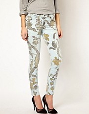 Citizens Of Humanity Printed Skinny Jeans