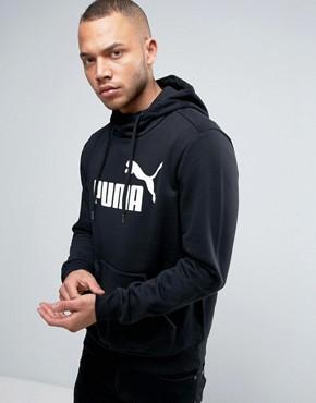 Puma ESS No.1 Hoodie In Black 838257 01