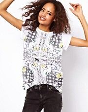 ASOS T-Shirt with Summer Baroque Print