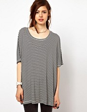 Just Female Stripe Gazo T-Shirt