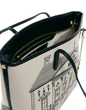 Image 2 ofLove Moschino House Canvas Shopper