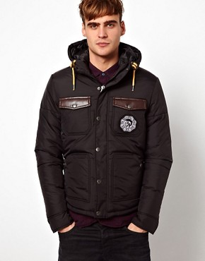 Image 1 ofDiesel Quilted Jacket Wisinplye
