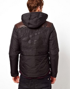 Image 2 ofDiesel Quilted Jacket Wisinplye