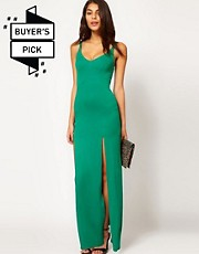 ASOS Maxi Dress With Double Split