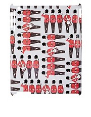 Beta Fashion  Queens Guard  Bedrucktes iPad-Etui