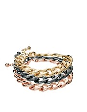 ASOS Pack of Three Mixed Chain Bracelets