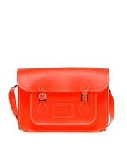 The Cambridge Satchel Company Leather Fluro Satchel 14&quot;