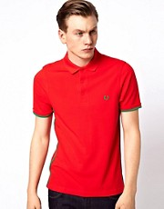 Fred Perry Polo with Contrast Binding