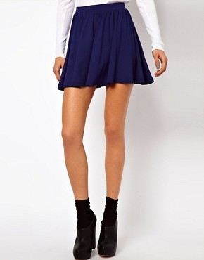 Image 4 ofASOS Skirt in Skater Style