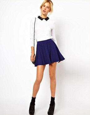 Image 1 ofASOS Skirt in Skater Style